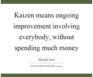 Kaizen ISO 9001