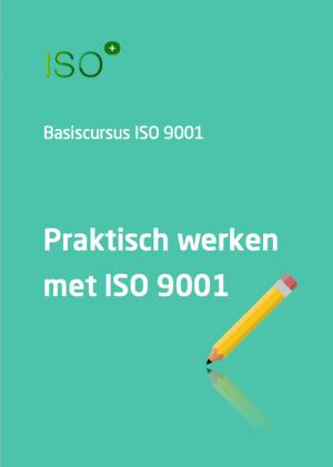 Cursus ISO 9001 praktisch groot
