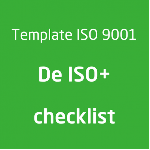 Template ISO 9001 ISOplus checklist