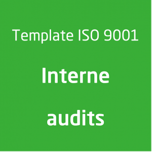 Template ISO 9001 Interne audits