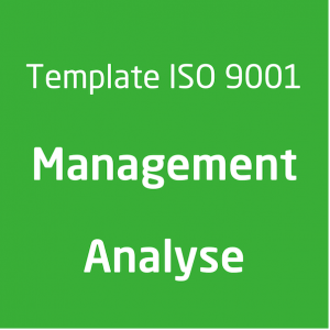 Template ISO 9001 Management analyse