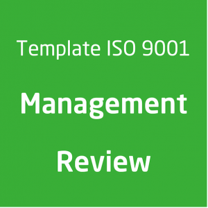 Template ISO 9001 Management review